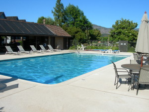 Yountville, Vintage Subdivision common pool