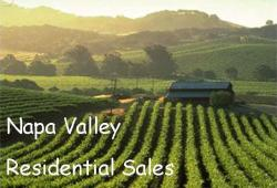 Napa Valley Residential Sales