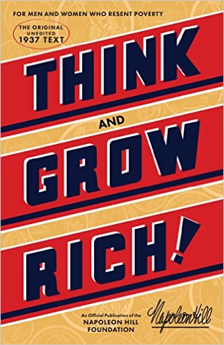 Risultati immagini per think and grow rich