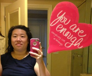 You Are Enough. BlogHer14 Mirror Body Image Photo