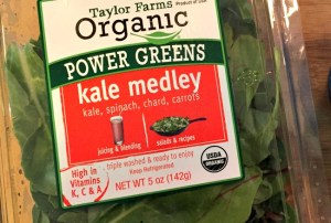 Taylor Farms Organic Kale blend is fresh and delicious