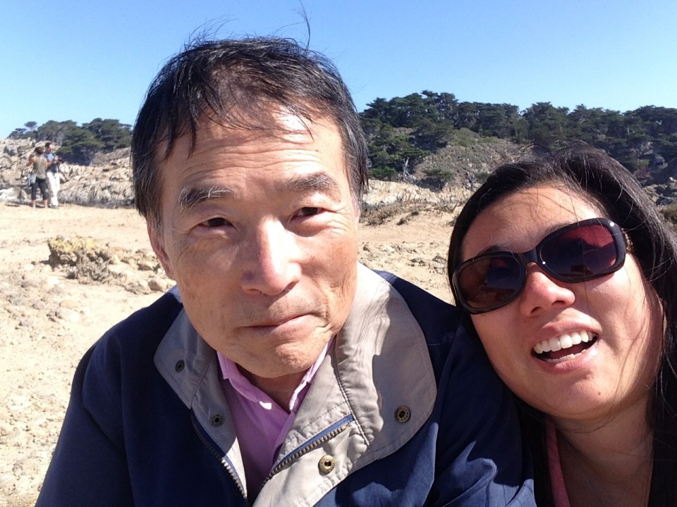 Dad and me in Monterray, CA