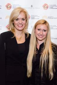 With Olga Kern at the Olga Kern International piano competition in Albuquerque, NM