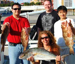 Red Grouper Fishing in Naples