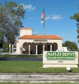 Naples Depot museum and attractions