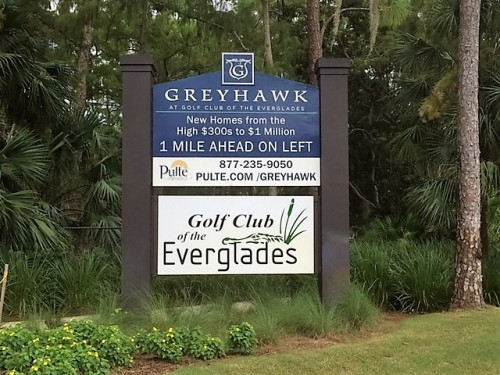 Golf Club of The Everglades Pulte Homes