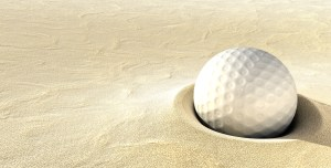 ball in a bunker