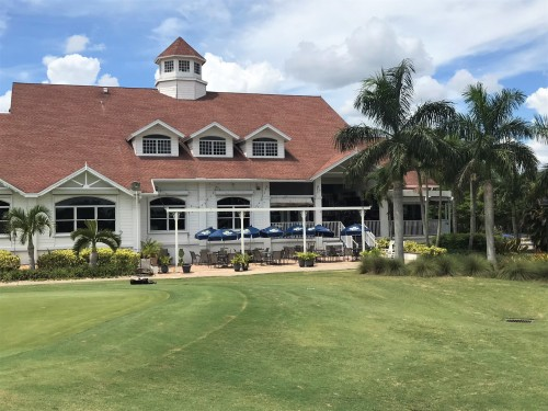 Ft. Myers Country Club Clubhouse