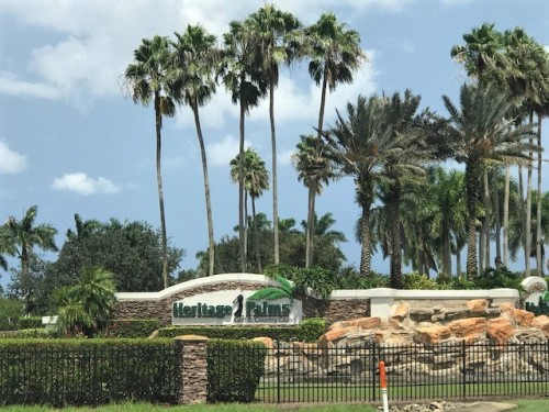 Heritage Palms Private Golf Club in Fort Myers FL