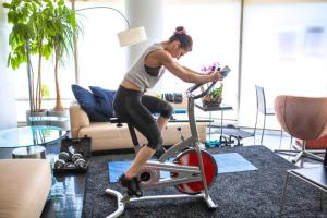 space for home fitness is motiving people to move