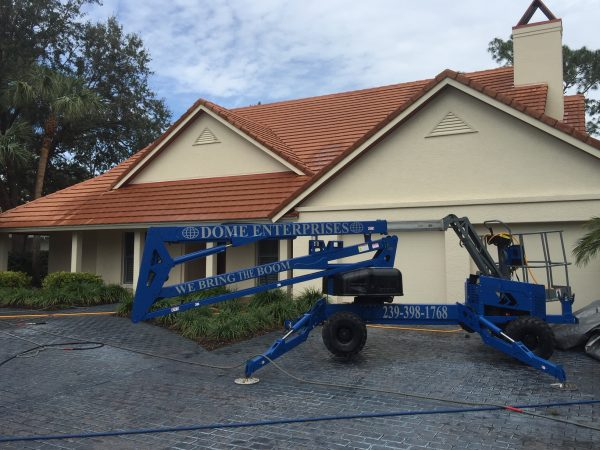 best roof cleaning by dome enterprises