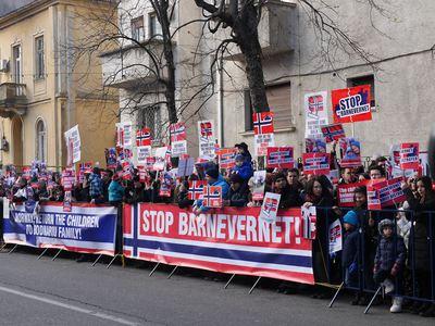 protest-ambasada-norvegiei
