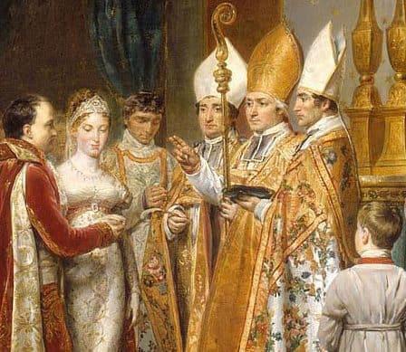 Le mariage de Napoléon et Marie-Louise
