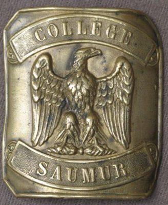 Boucle En Laiton A l'Aigle Impérial Collège De Saumur Napoléon (Curiosités d'Ainay)