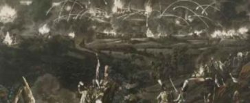 Le siège de Danzig (Rugendas)
