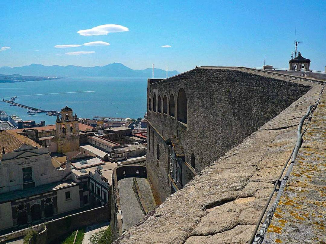 Castel Sant'Elmo Napoli (vista mare)