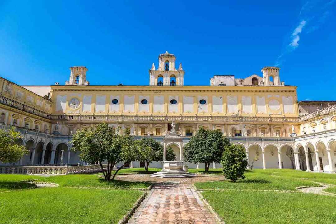 Chiostro grande San Martino Napoli