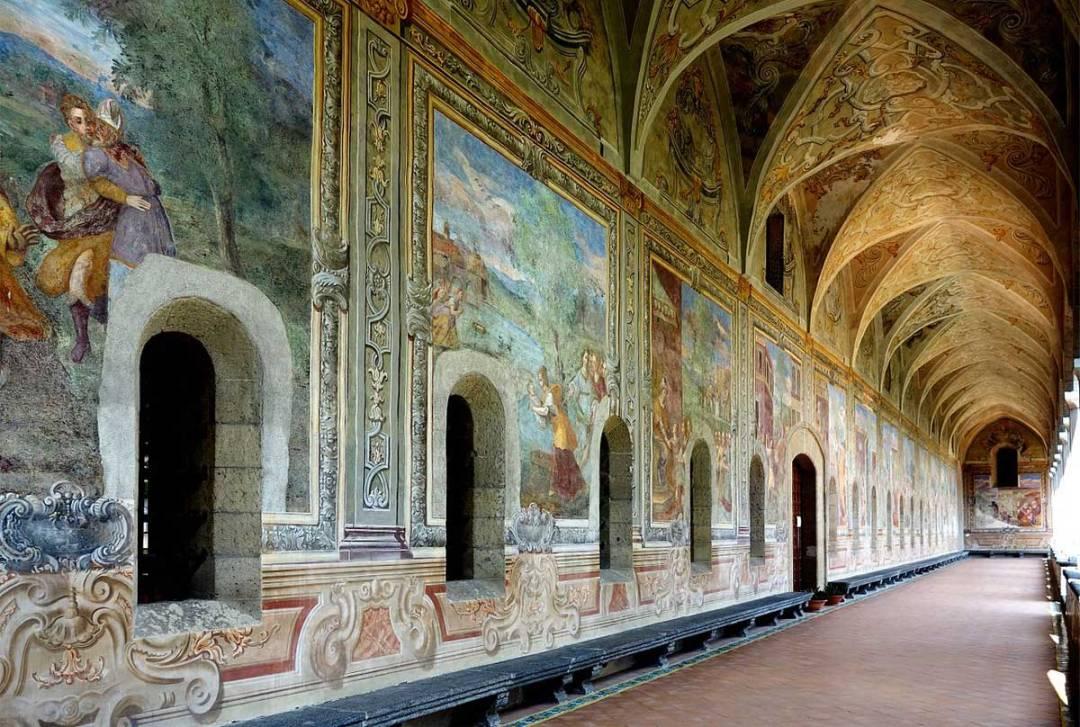 Complesso monumentale di Santa Chiara, Napoli (foto da Velvet)