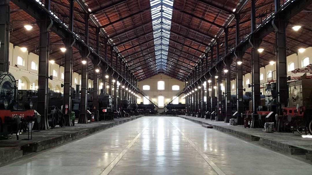 Museo Pietrarsa, Napoli - Portici (padiglione locomotive)