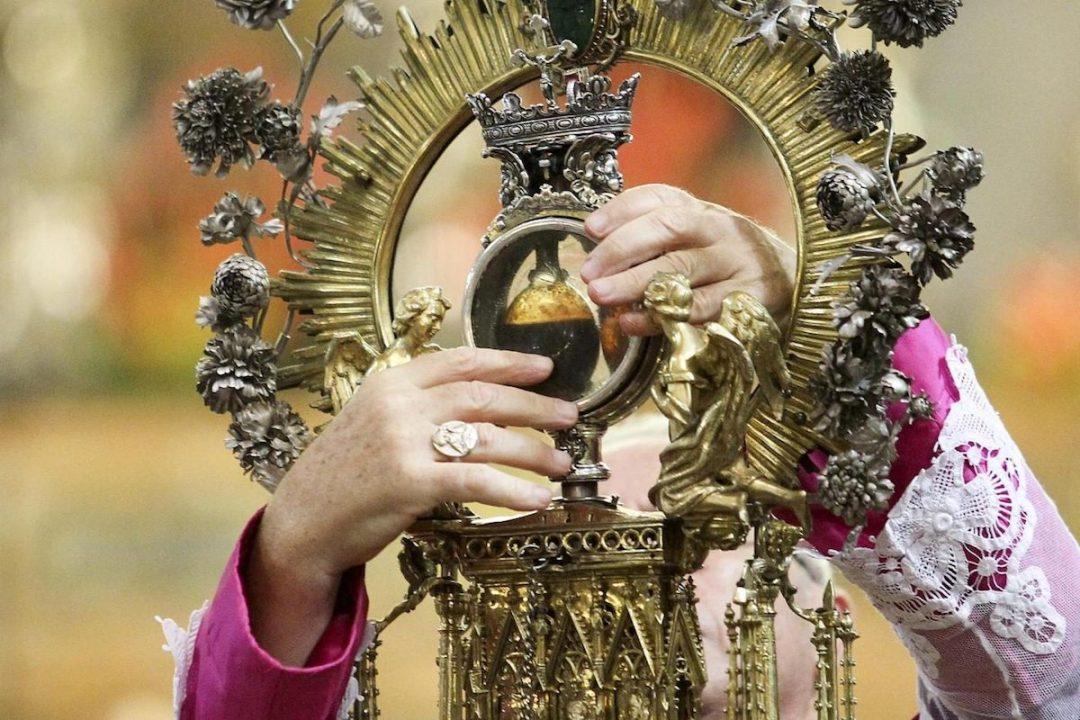 San Gennaro, Ampolla del sangue