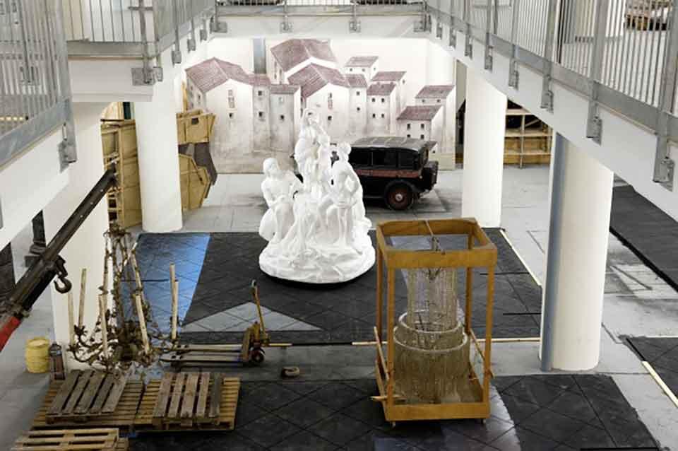Laboratori artistici di Vigliena, Napoli