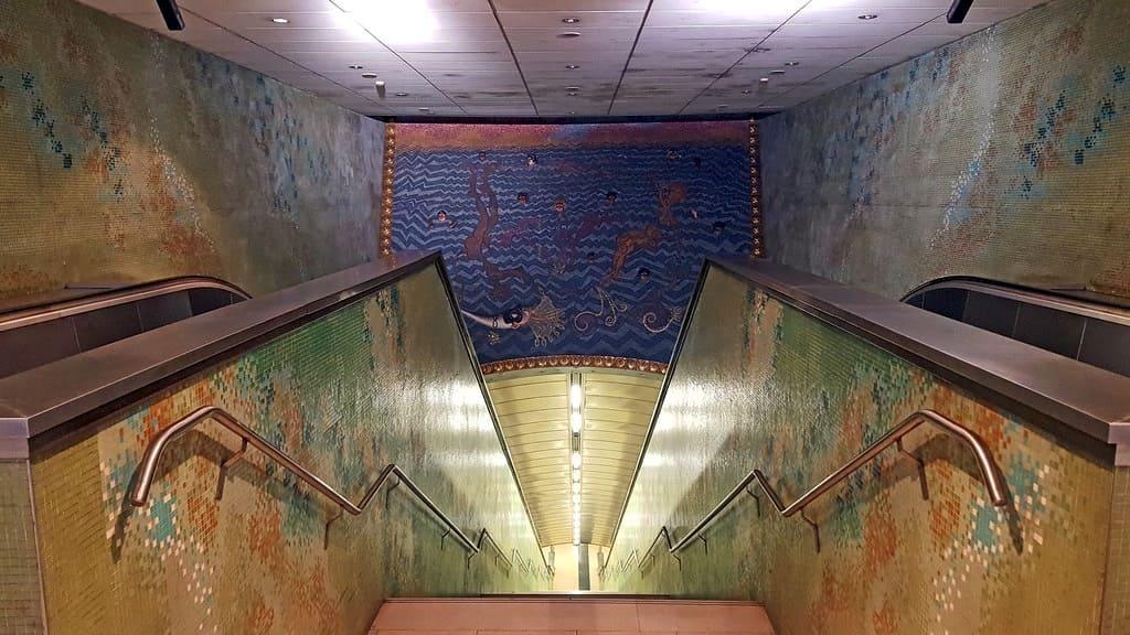 Metro dell'Arte, Stazione Materdei