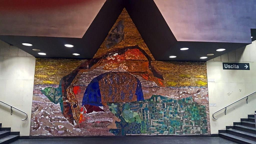 Metro dell'Arte, Stazione Vanvitelli