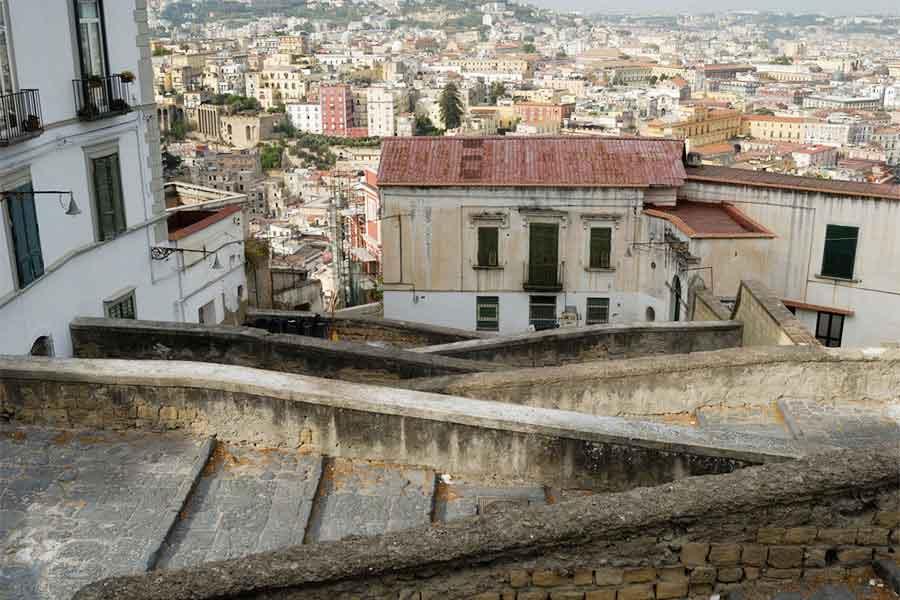 Le scale di Napoli, la Pedamentina