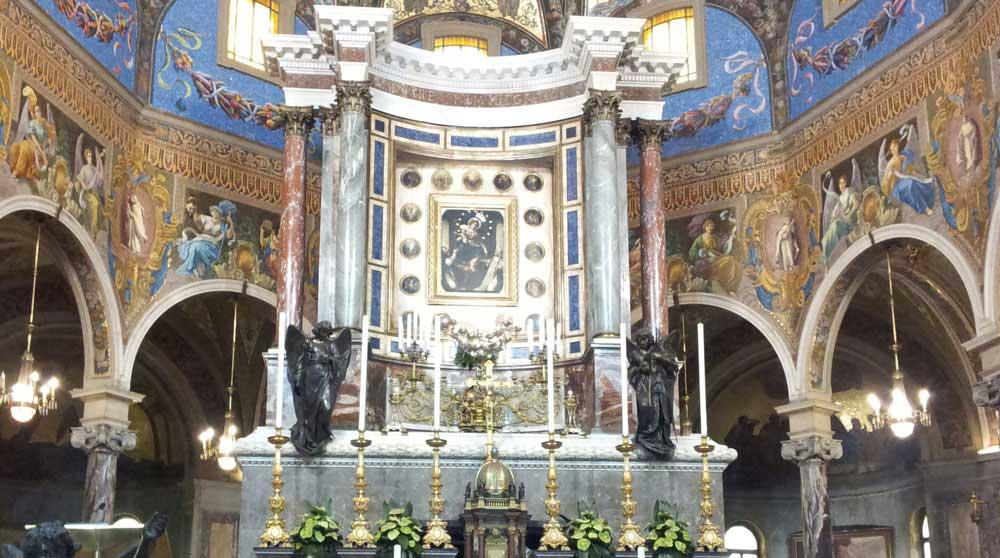 Santuario della beata vergine di pompei tra storia e fede - Pitture da interno ...