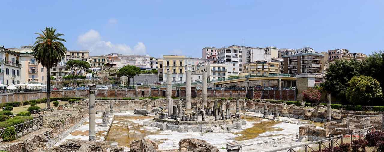 Il tempio di Serapide (Macellum) di Pozzuoli