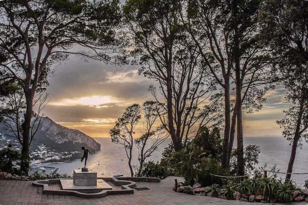 Belvedere di Villa Lysis, Capri