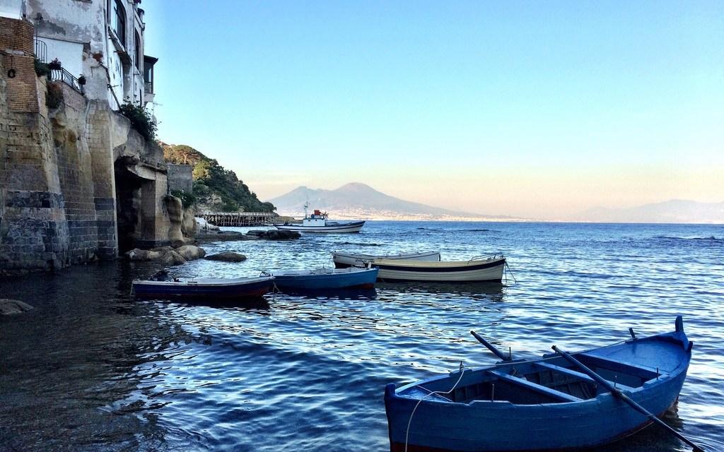 Borgo di Marechiaro a Napoli
