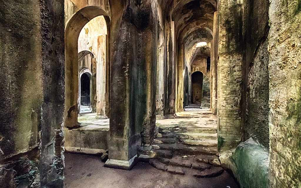 La Piscina Mirabilis, la più grande cisterna dell'antichità