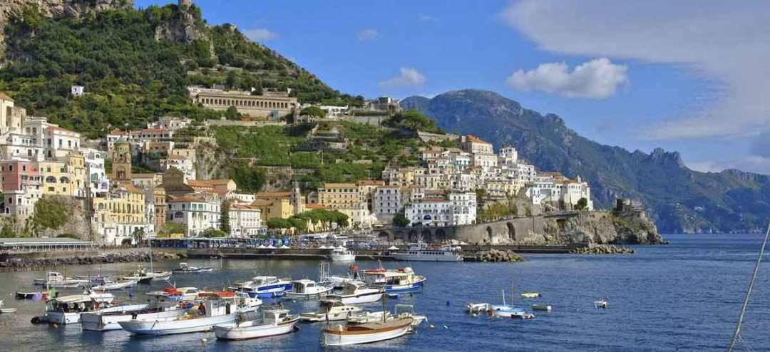 Amalfi vista dal Mare