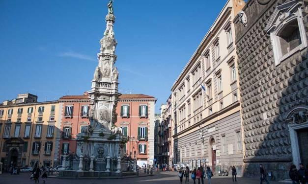 Napoli: Riti dell'Immacolata in Piazza del Gesù