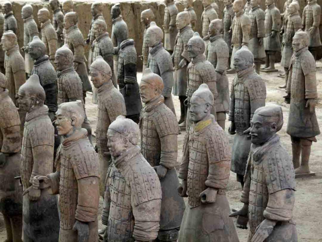 Mostra a Napoli Esercito di Terracotta