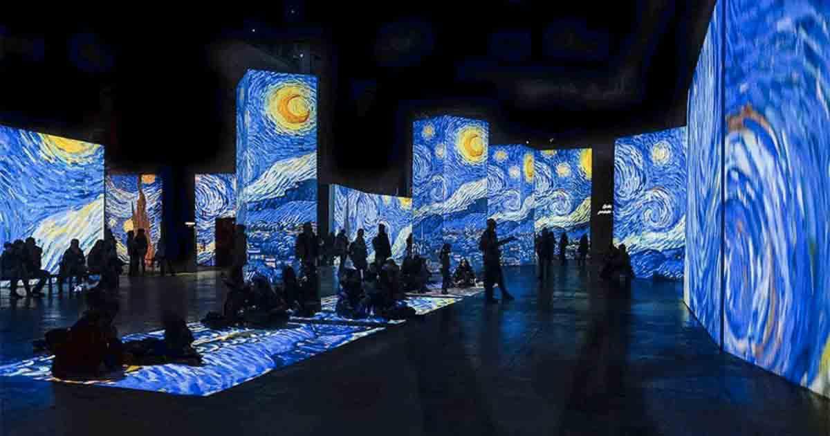 A Napoli la mostra interattiva di Van Gogh