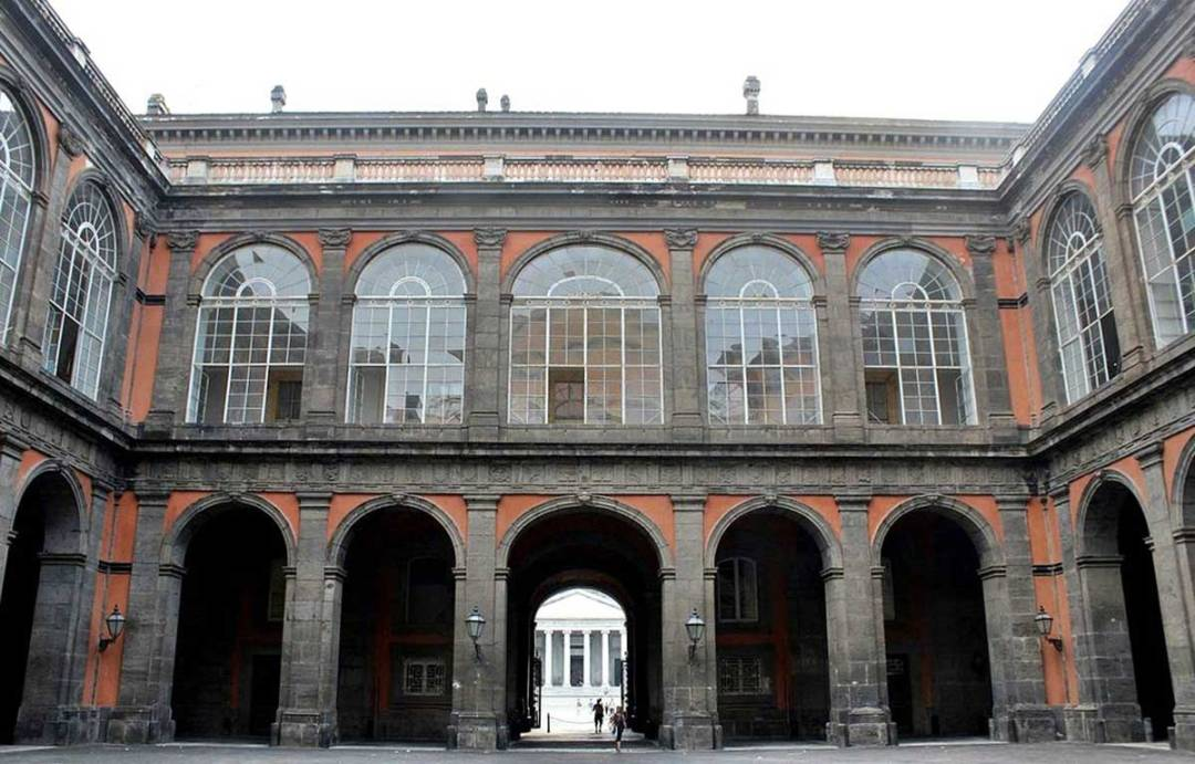 Palazzo Reale sede della Biblioteca Nazionale Vittorio Emanuele III