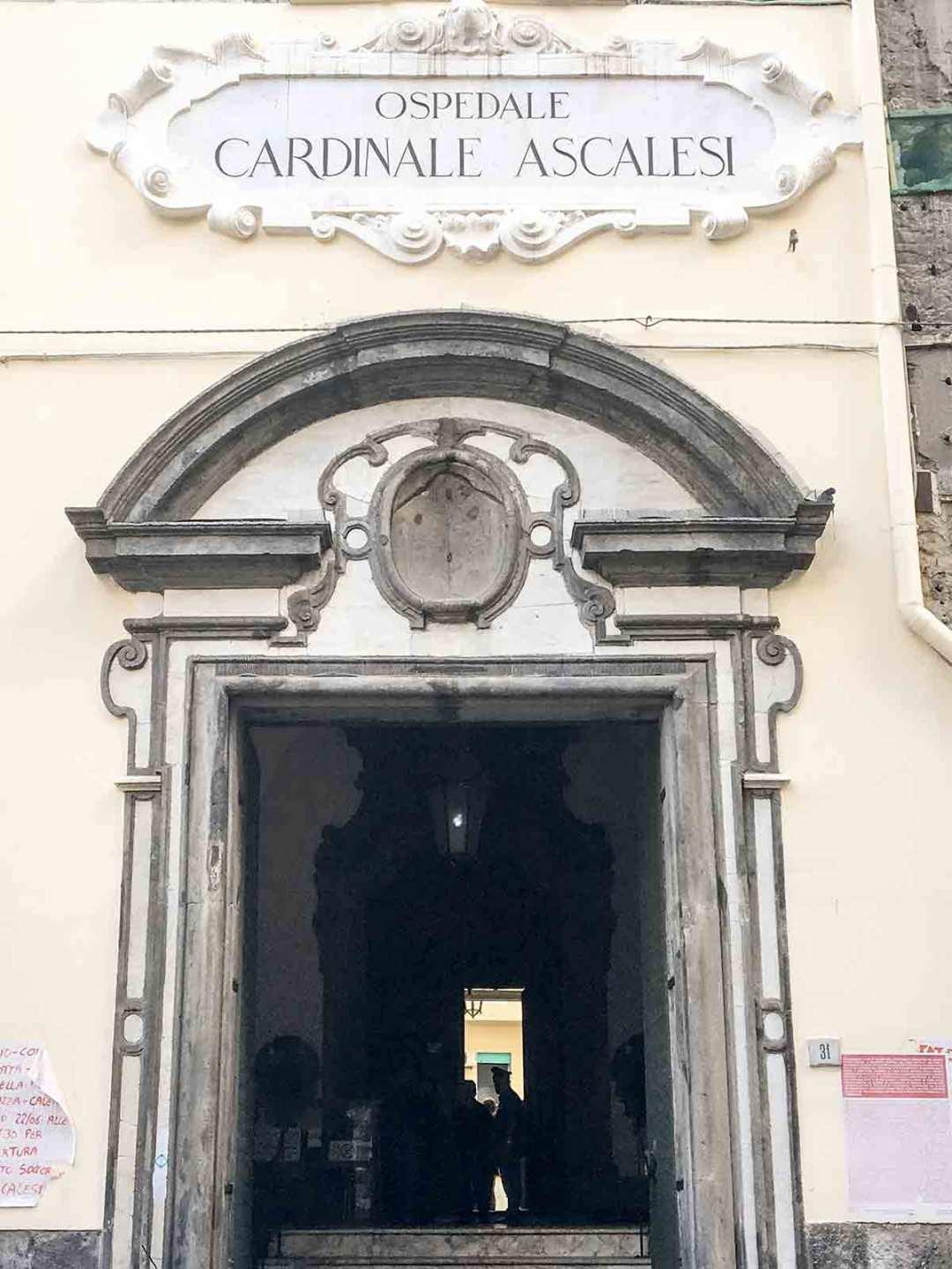 Santa Maria Egiziaca a Forcella - Ospedale Ascalesi