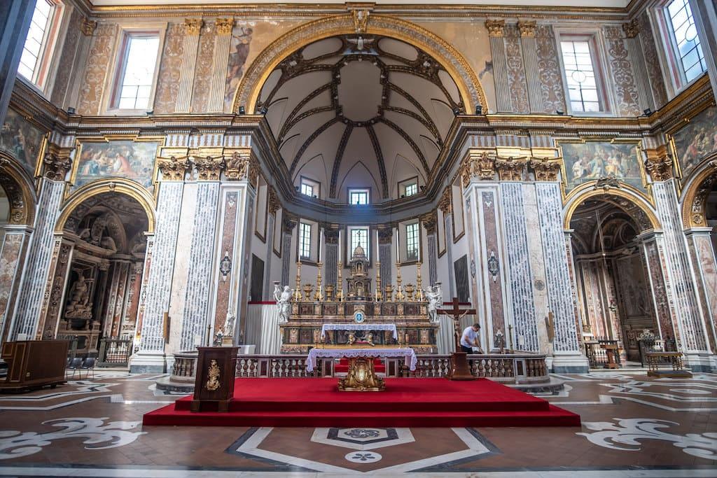 Altare Maggiore San Paolo Maggiore Napoli