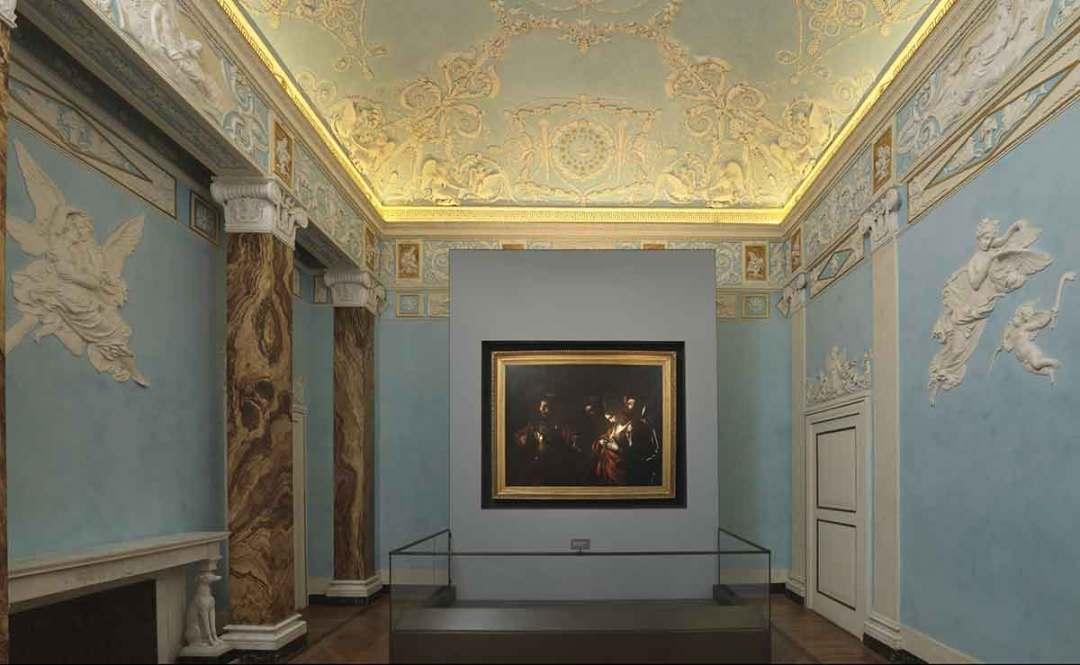 Il Martirio di Sant'Orsola - Palazzo Zevallos Stigliano, Napoli