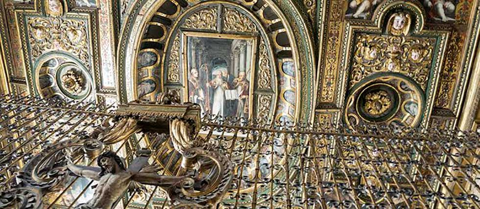 San Gregorio Armeno Soffitto
