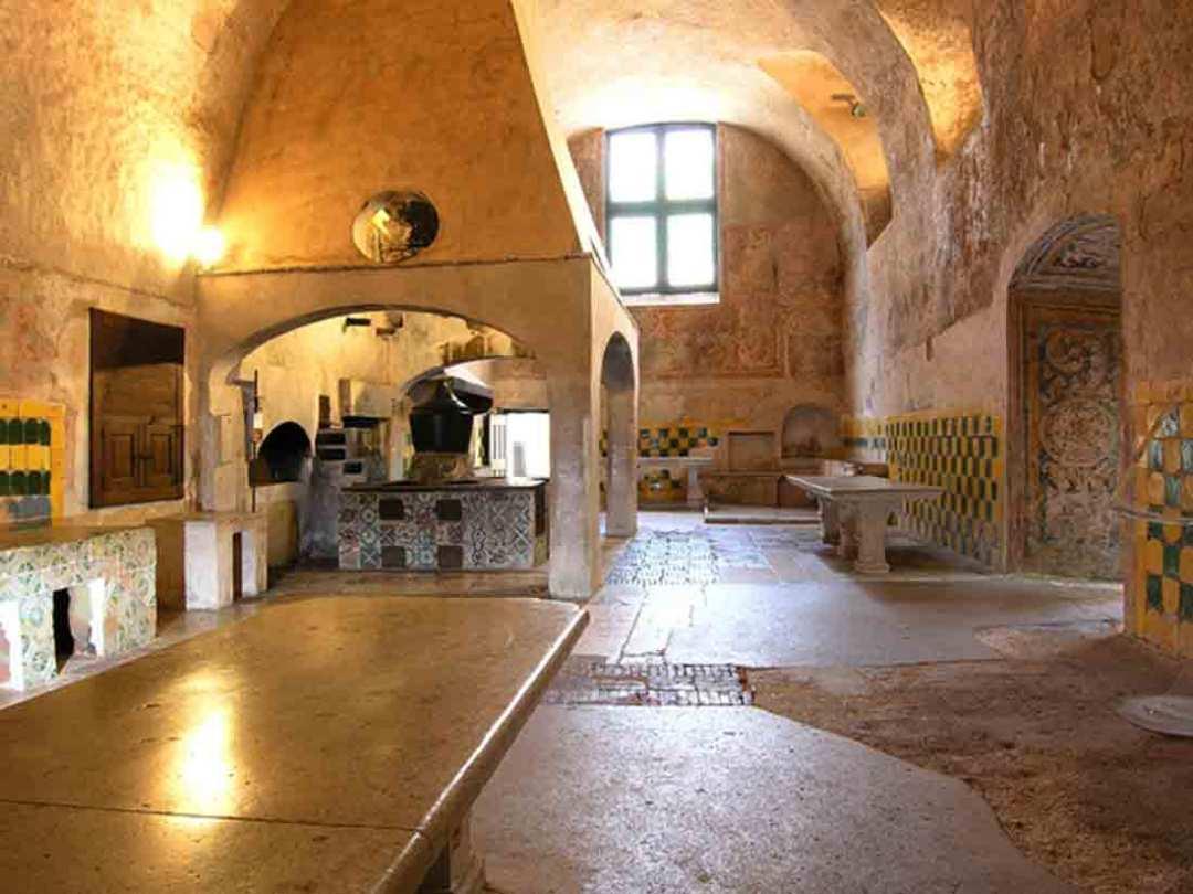 Certosa di Padula Cucina