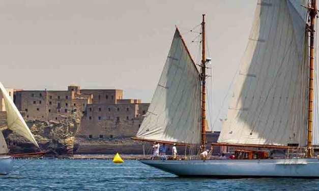 Vele d'Epoca 2018 nel golfo di Napoli dal 29 giugno al 1 luglio