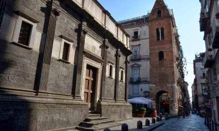 Cappella del Pontano, Decumano Maggiore a Napoli