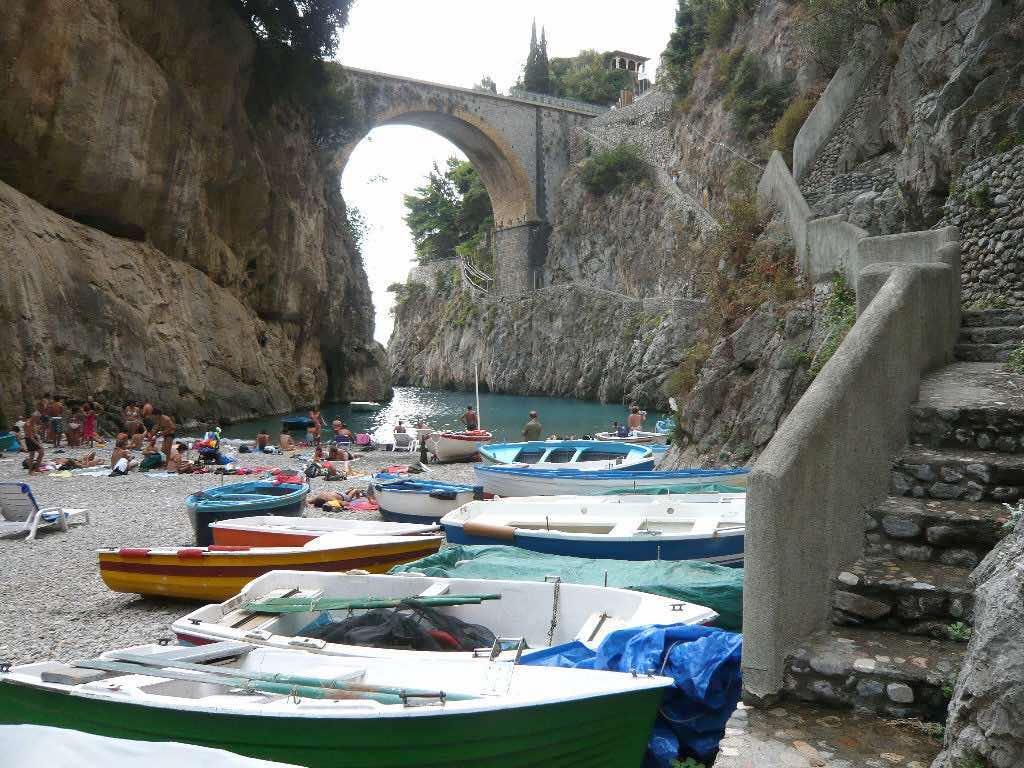 Spiagge della Campania: Fiordo di Furore
