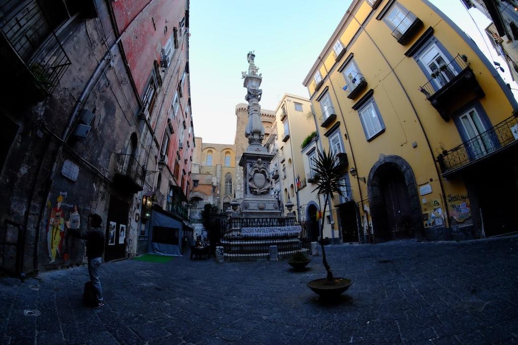 Napoli Obelisco San Gennaro
