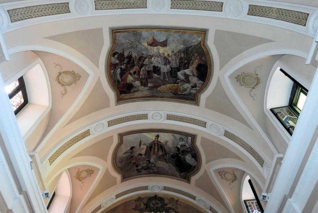 Santuario di San Gennaro alla Solfatara, Interno