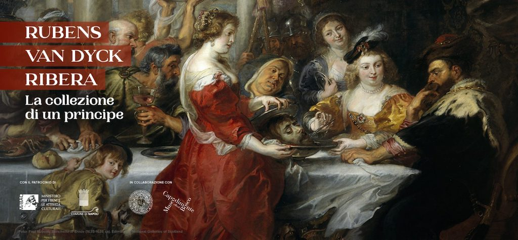 Rubens, Van Dyck, Ribera, tre pittori per una mostra unica a Napoli