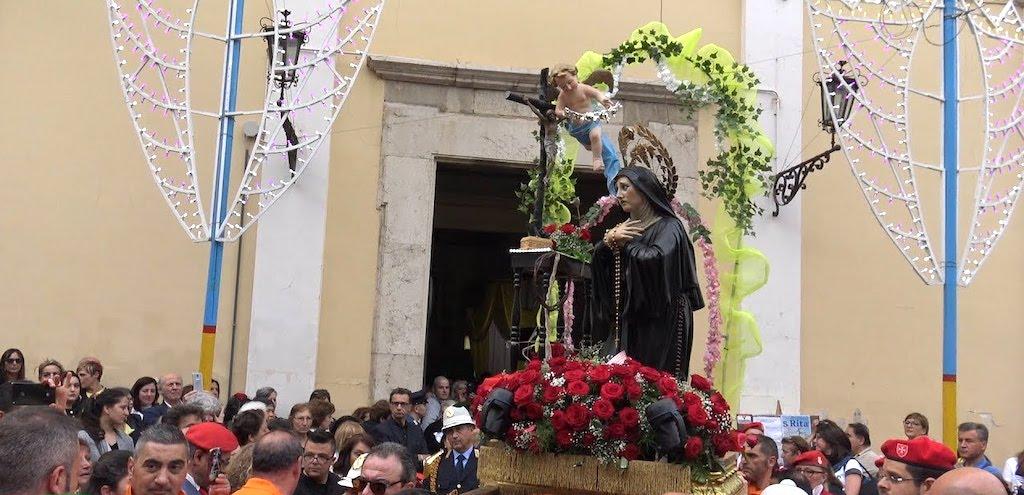 Avellino Processione di Santa Rita